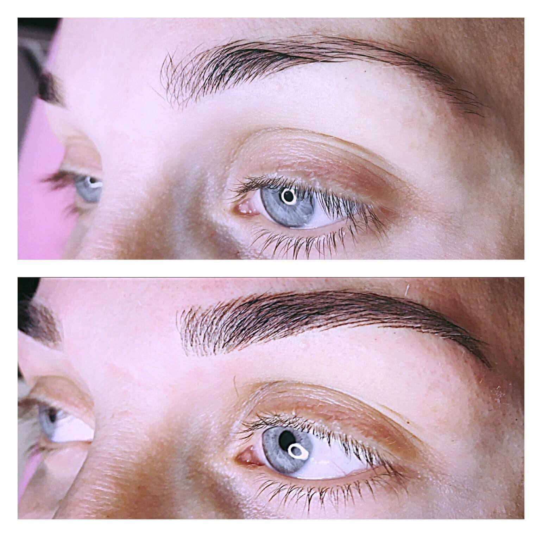 tatovering av øyenbryn